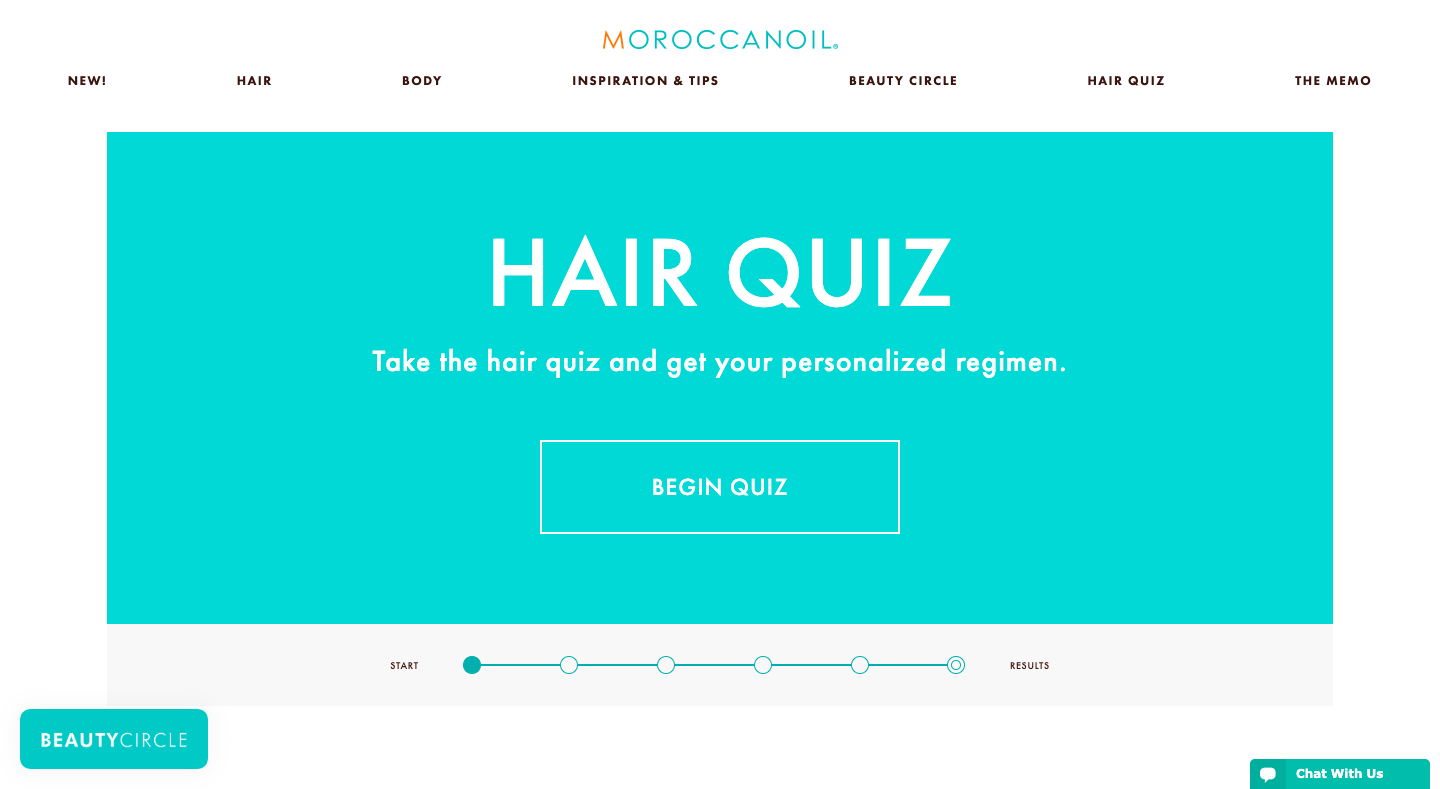 Website Content - Moroccan Oil