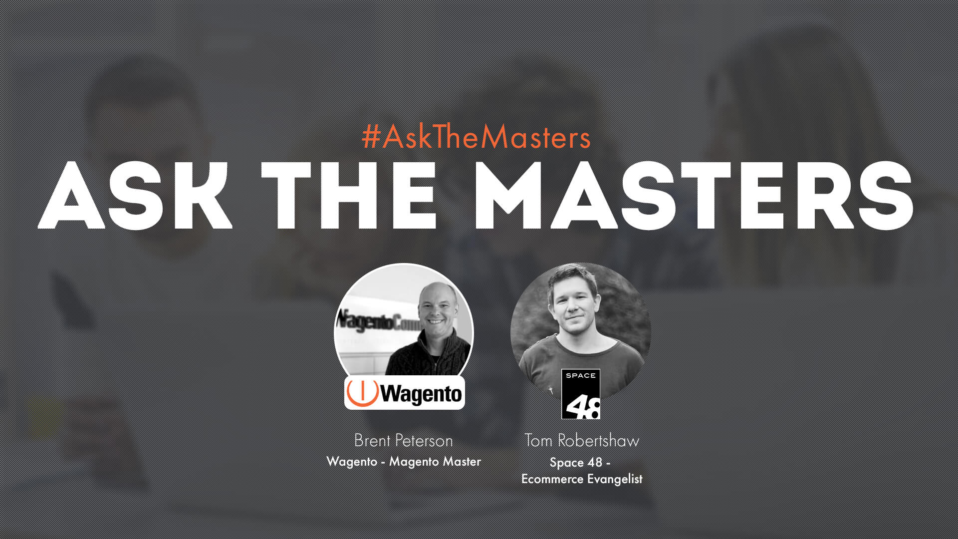 Ask the Masters April webinar co-hosts