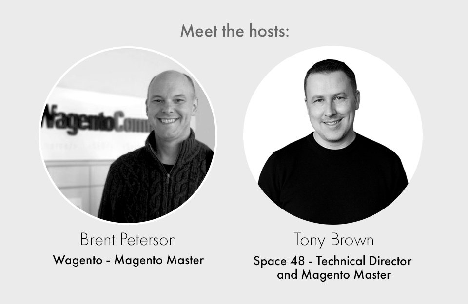 Ask the Masters Magento webinar hosts